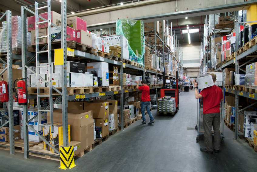 magasin, stock, logistique